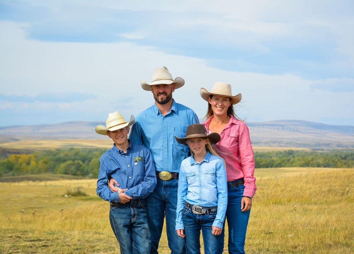 Rancher Rachel Herbert and her family, who are concerned about proposed coal mines