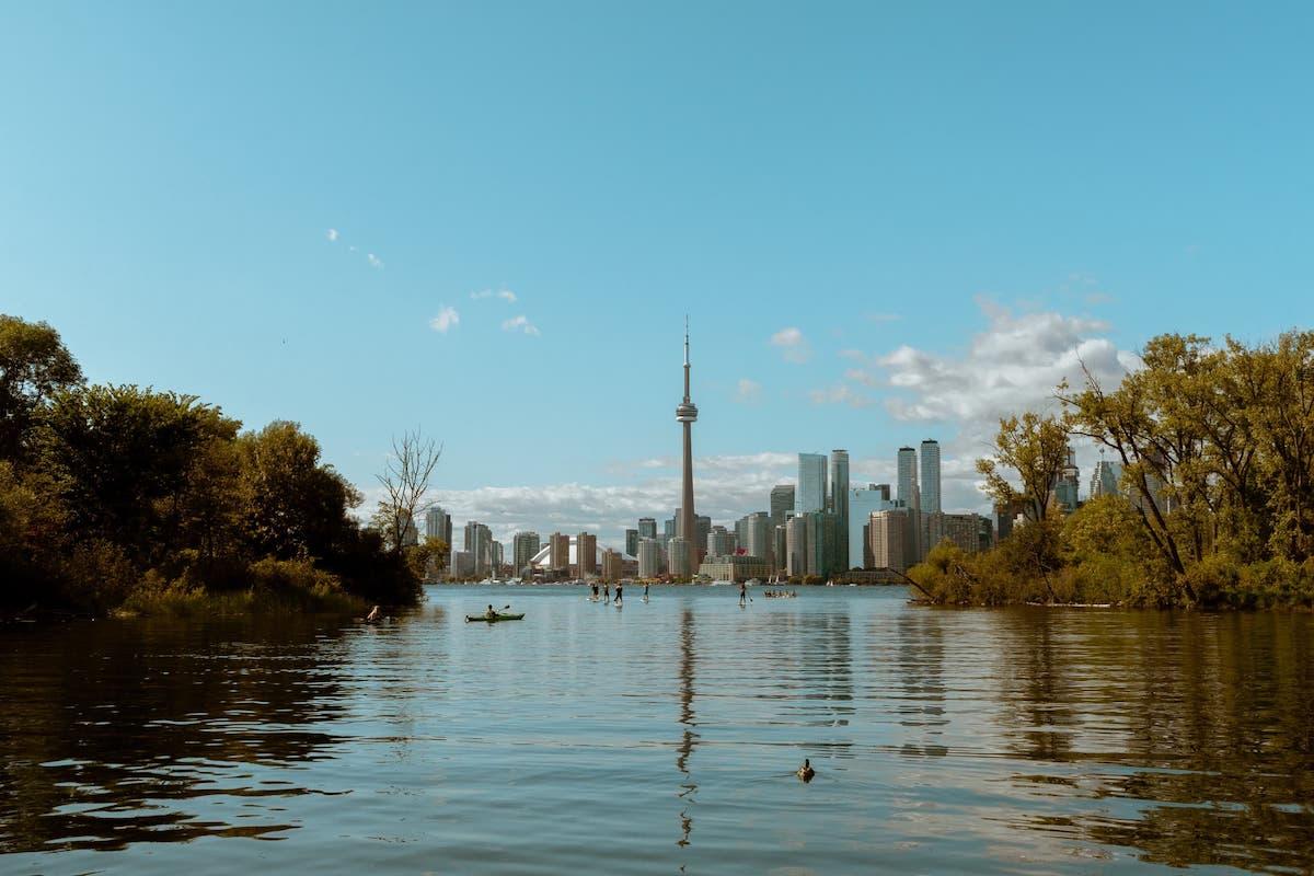 A view of the Toronto skyline