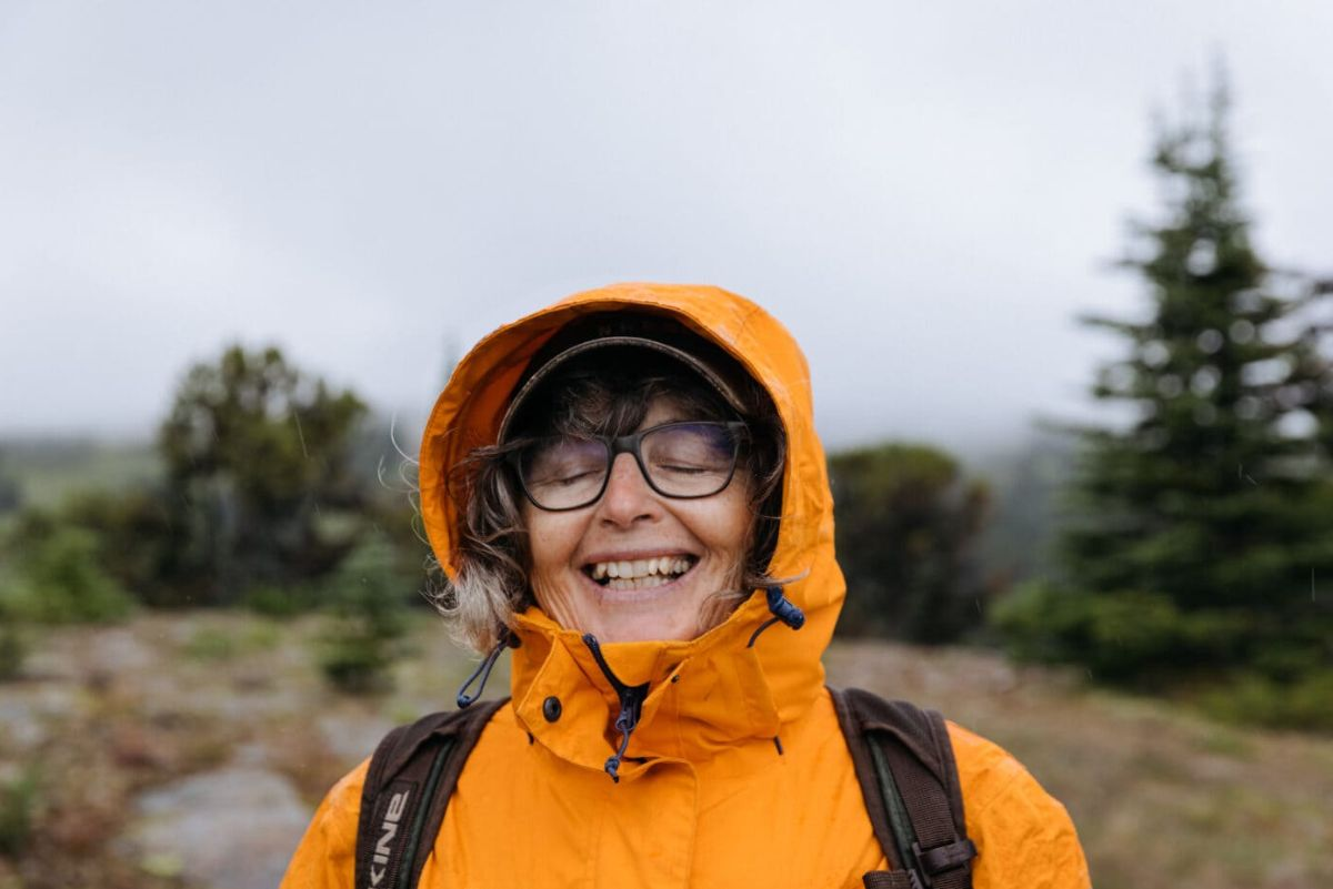 forester and ecologist, Sybille Haeussler smiling outdoors