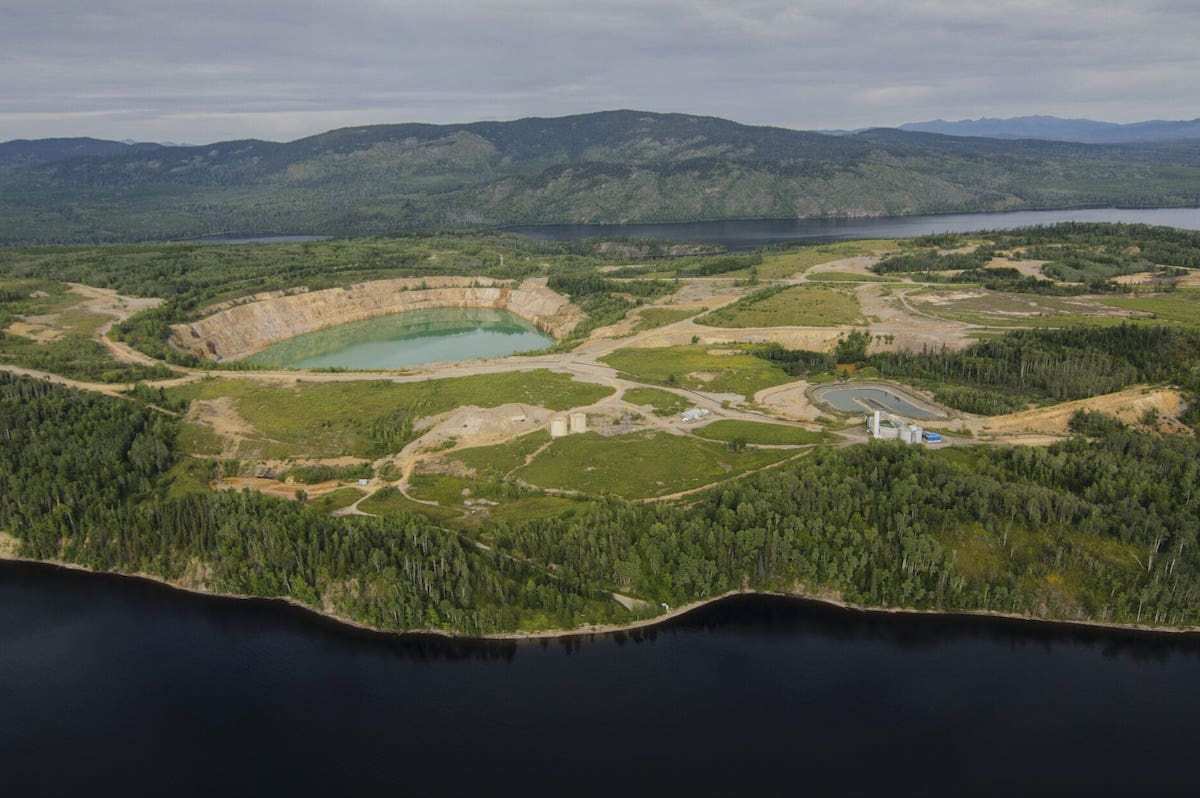 The decommissioned Bell mine in northwest B.C.