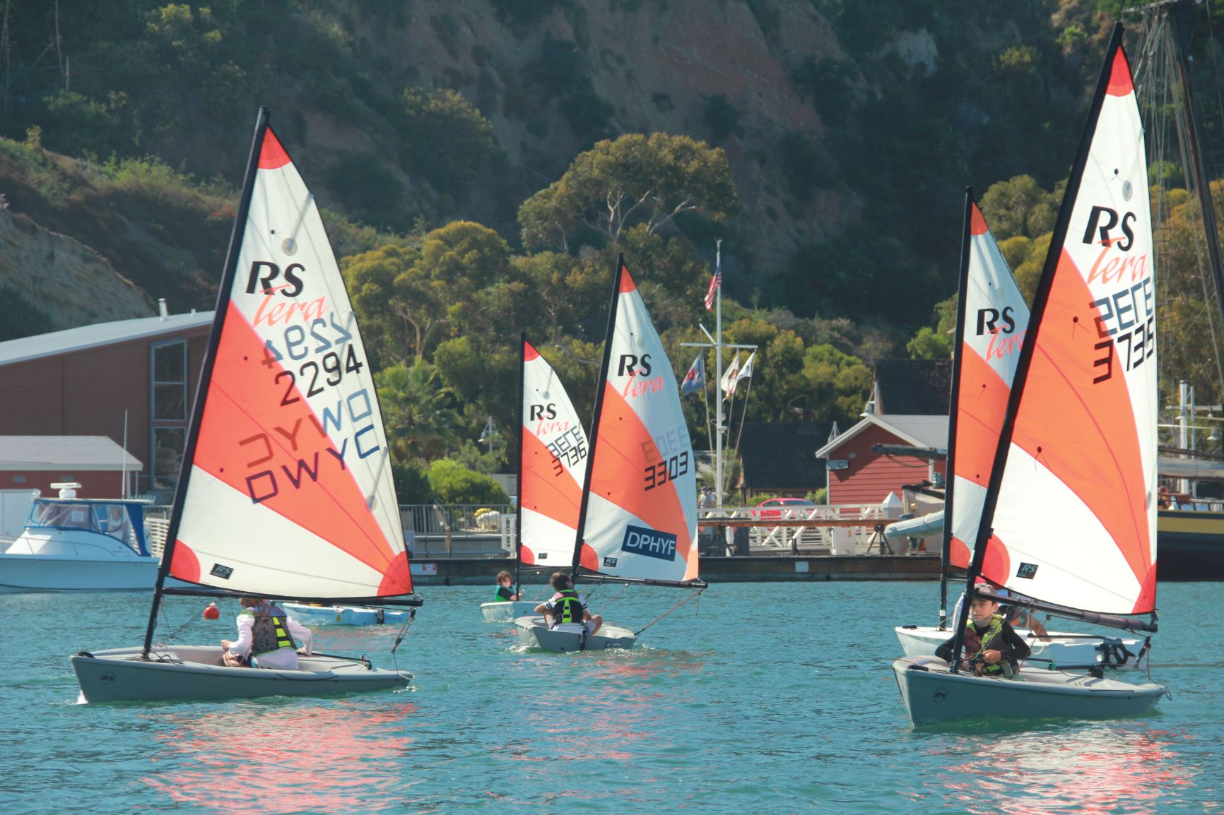 Intro to Junior Racing / Intermediate Sailing
