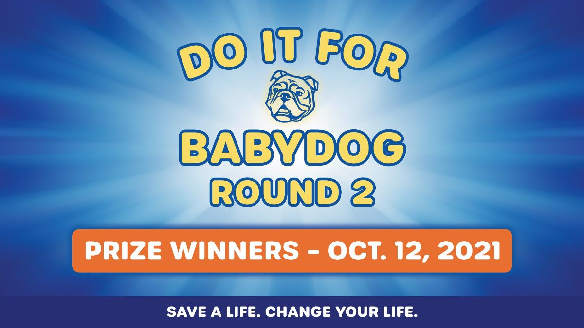 Do it for Babydog Round 2: Gov. Justice announces prize winners in vaccination sweepstakes – October 12, 2021