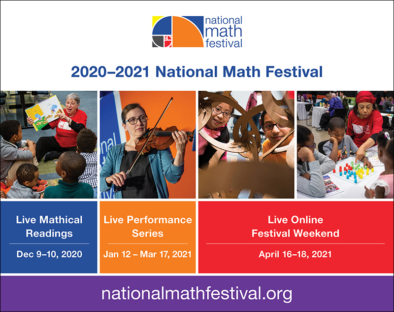 2020-2021 National Math Festival Events