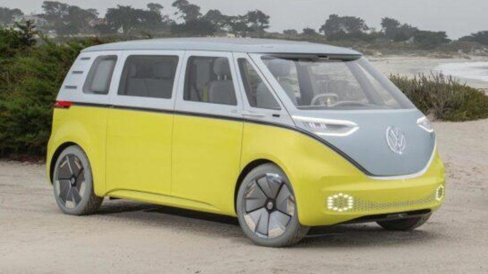 elektrischer Bulli - der ID.Buzz von Volkswagen