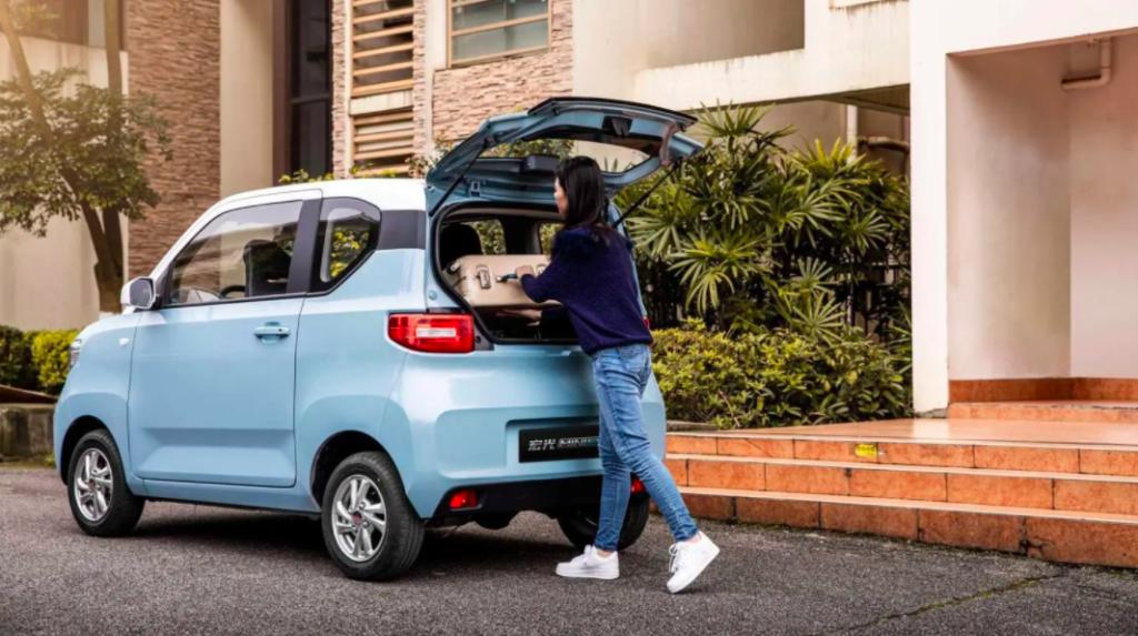 günstigste Elektroauto Hongguang MINI EV