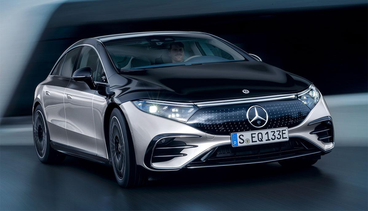 Elektrische S-Klasse von Mercedes - der EQS