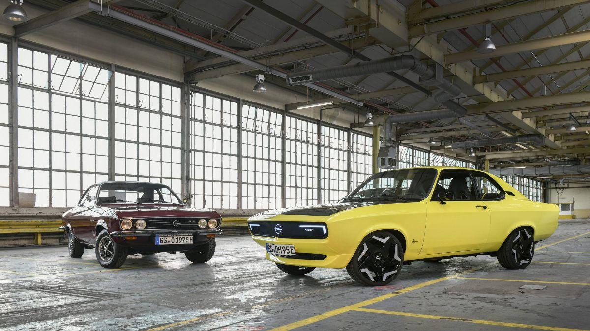 Opel Manta feiert Comeback als E-Auto