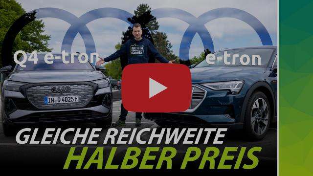 Audi q4 e-tron gegen Audi e-tron