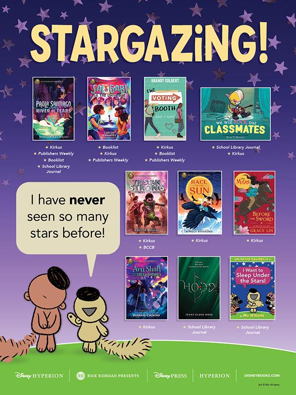 Stargazing with Disney Publishing