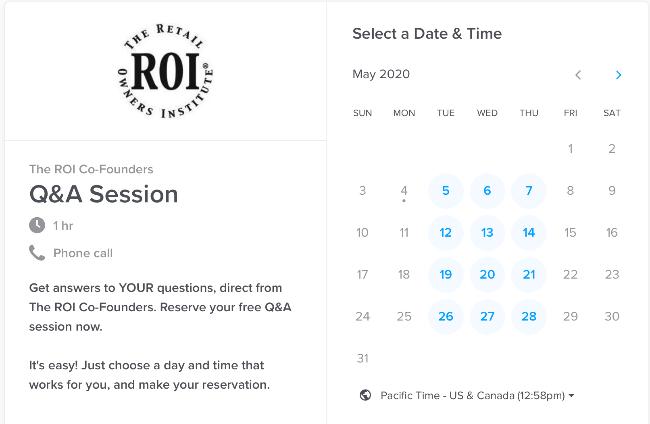 Reserve Q&A session