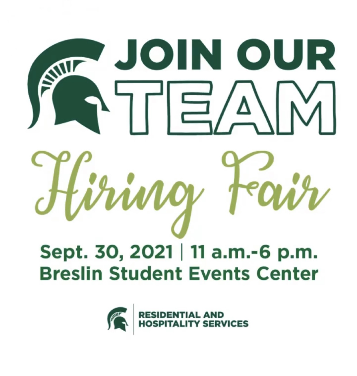 MSU Hiring Fair @ Breslin Student Events Center