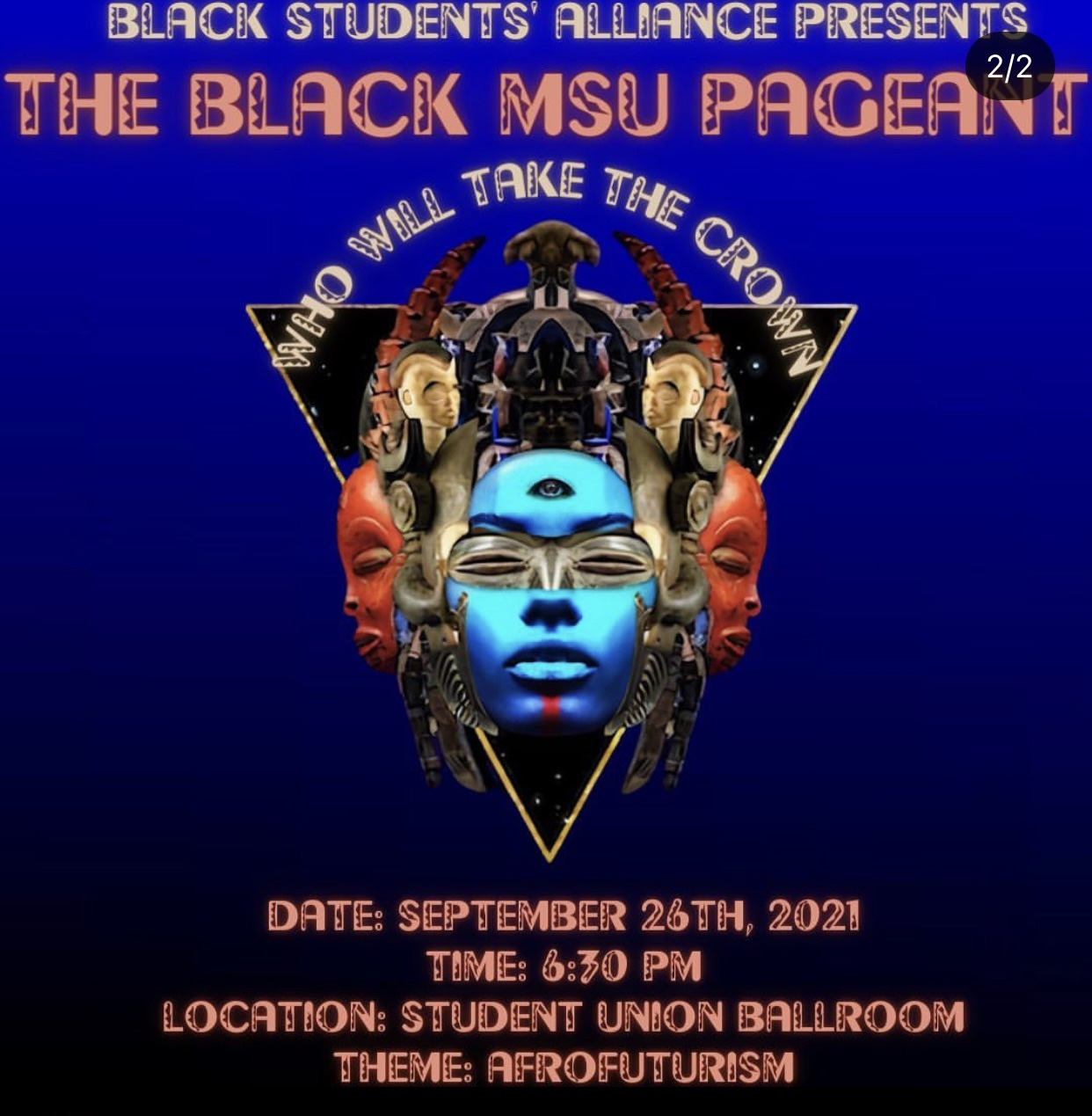 The Black MSU Pageant @ Student Union Ballroom