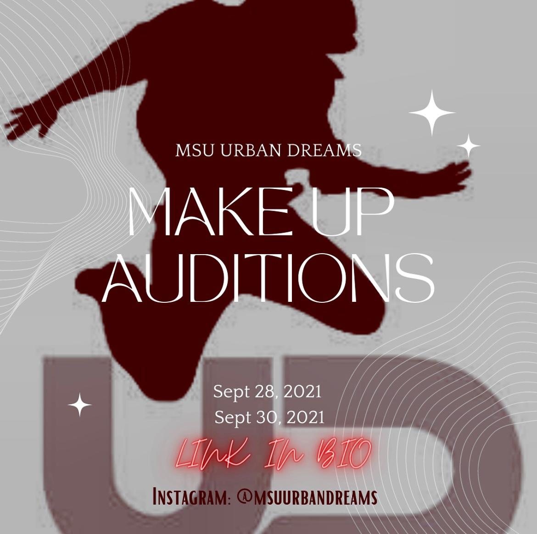 MSU Urban Dreams: Make Up Auditions