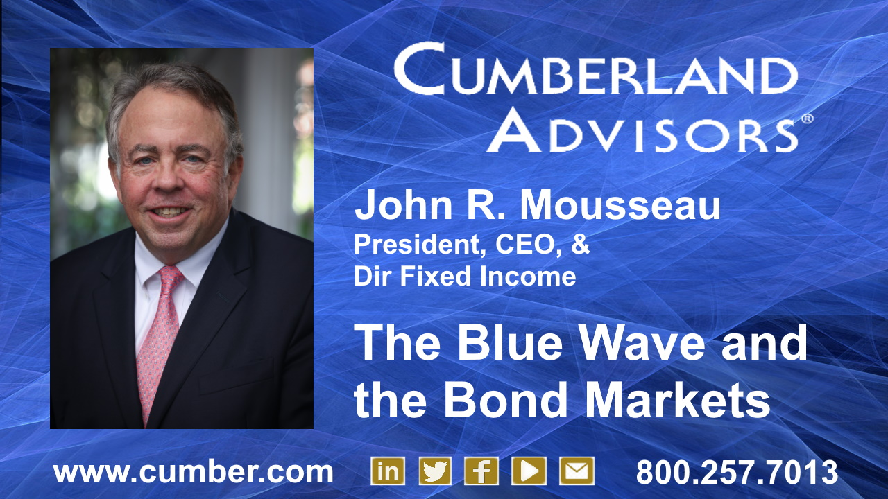 The Blue Wave and the Bond Markets