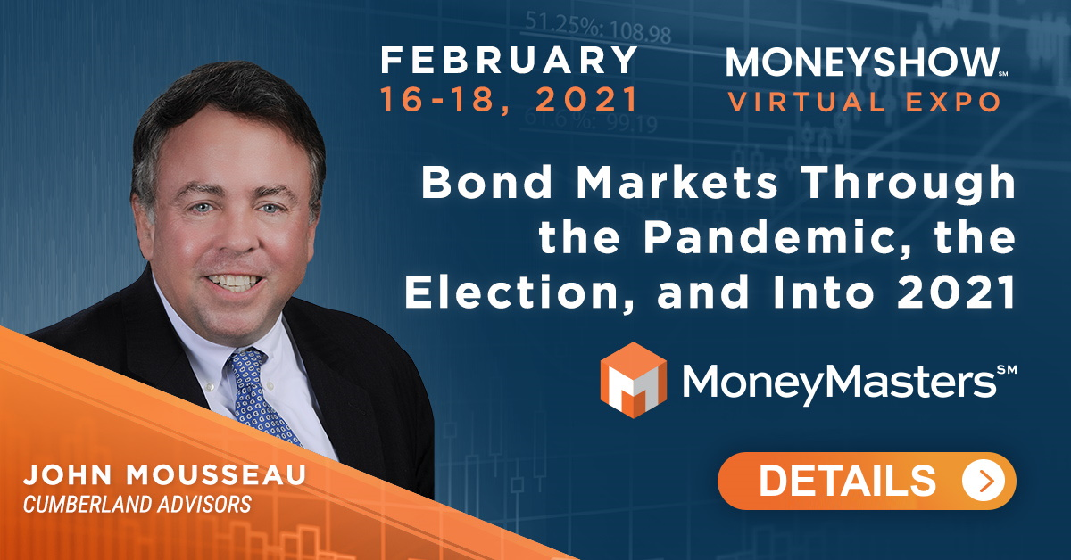 "John Mousseau talk titled ""Bond Markets through the Pandemic, the Election, and into 2021"""