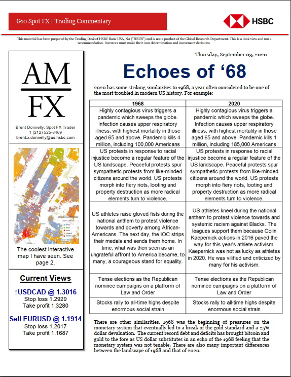 Echoes of 1968 by Brent Donnelly