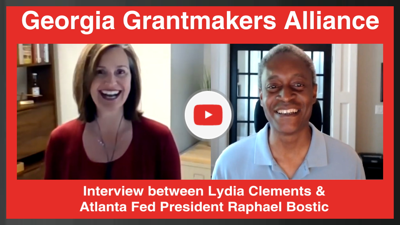 Interview between Lydia Clements & Atlanta Fed President Raphael Bostic