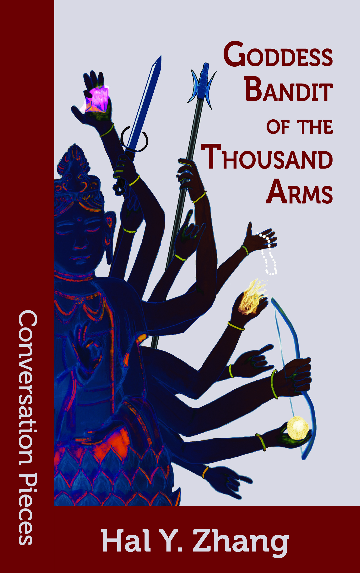 Cover image of Goddess Bandit of the Thousand Arms