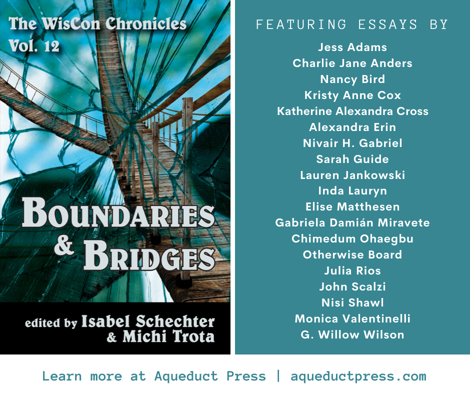 Promotional image of The Wiscon Chronicles volume 12