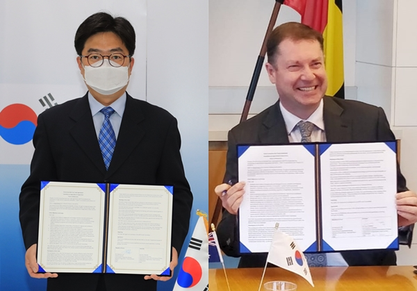 Head of Trade, Market Access and International Division, Chris Tinning, co-chaired the virtual meeting with Director-General Sang-man Lee of Korea's Ministry of Agriculture, Food and Rural Affairs.