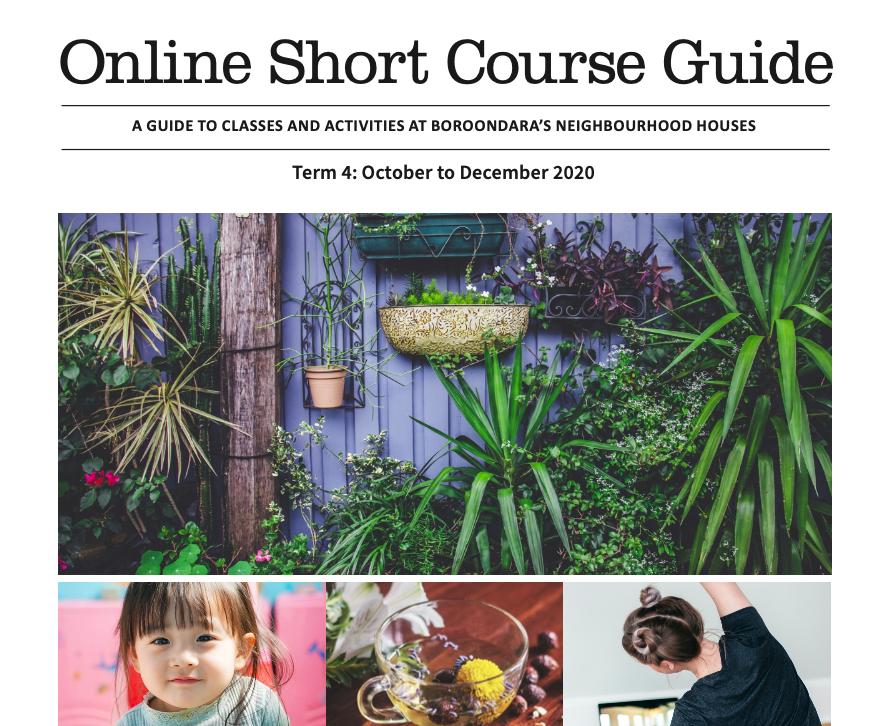Online short course guide