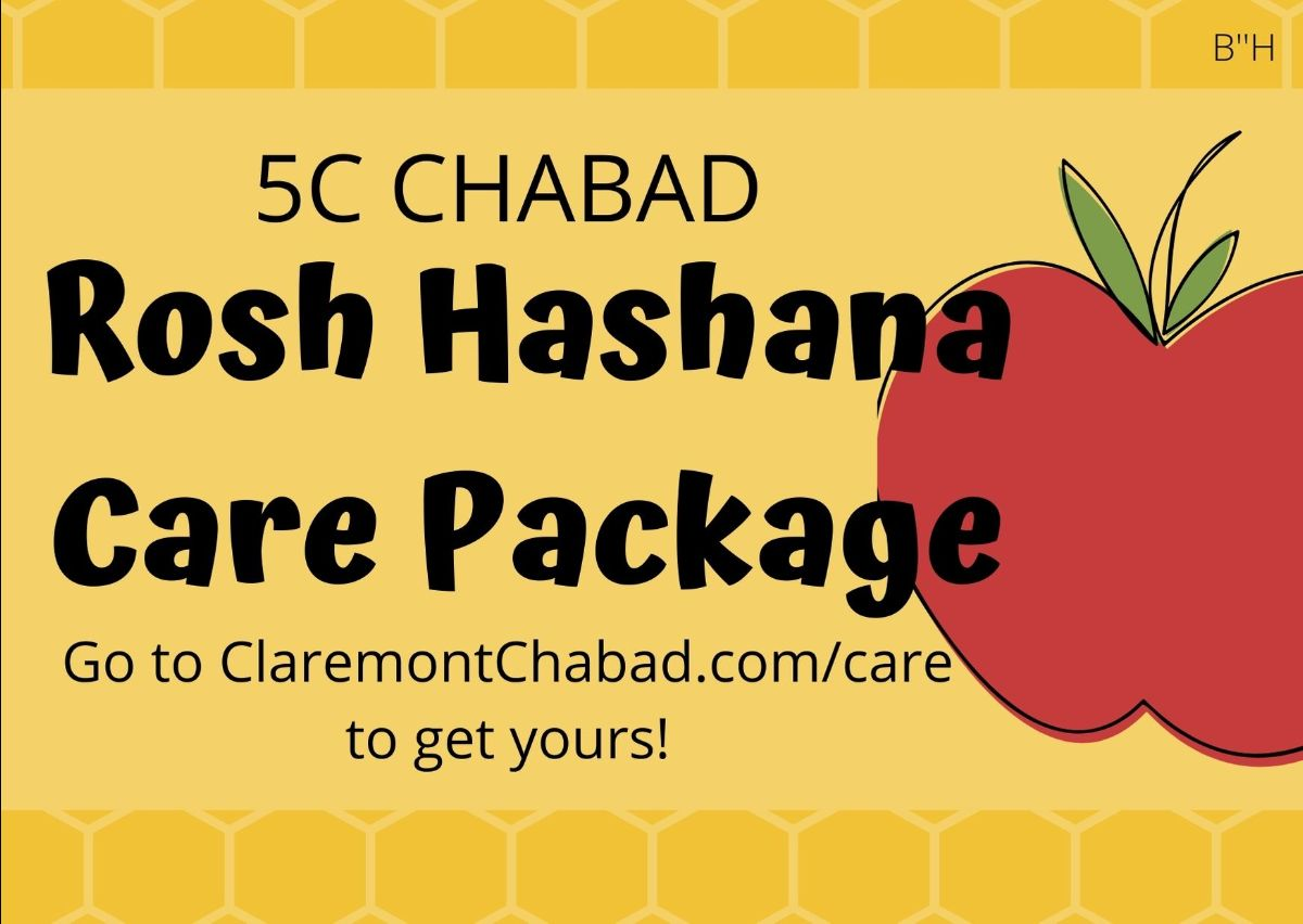 Image of an apple for Rosh Hashanah care packages.