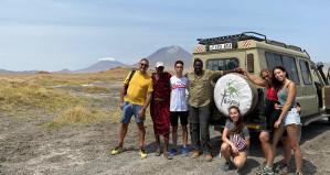 ...solo nos cruzamos con tres vehículos en un día completo en el Serengueti...