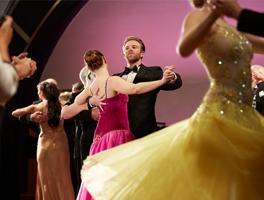 cunard dancing