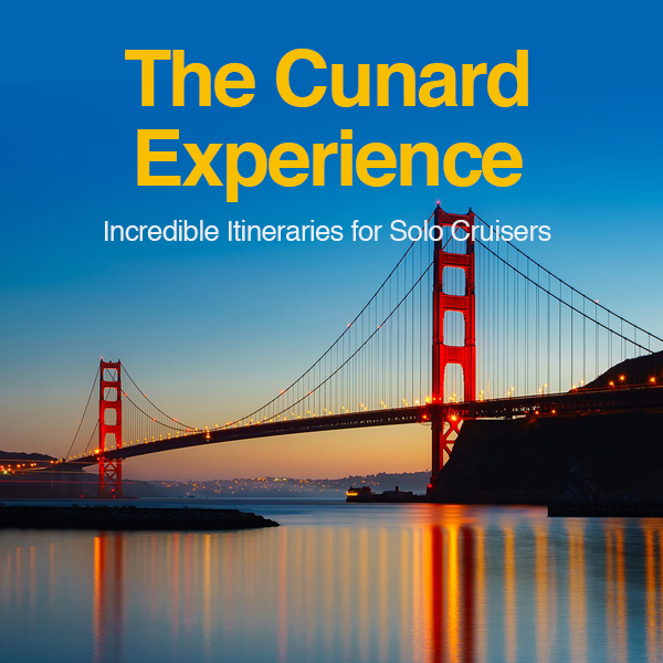 the cunard solo experience