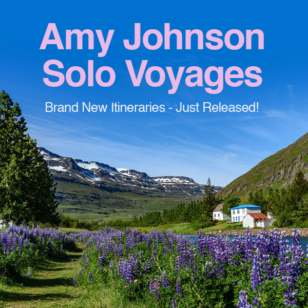 amy johnson solo voyages