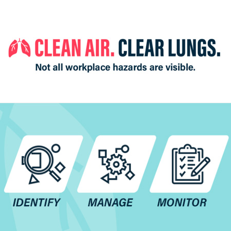 Occupational lung disease campaign resources available