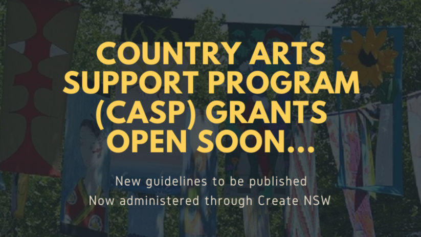 CASP Grants Opening Soon