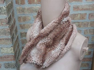 Shale Cowl in Brown Shades
