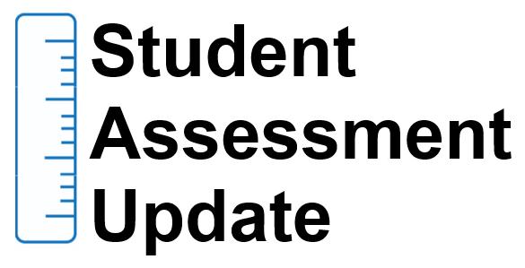 Student Assessment Update banner/logo