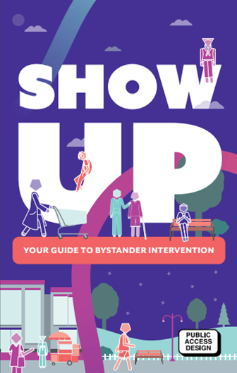 Image of Show Up brochure for Bystander Intervention