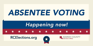 Absentee voting notice