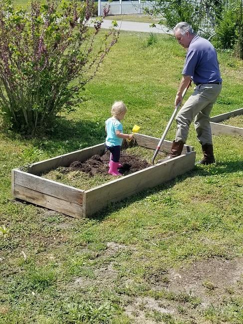 Libby & Grandpa