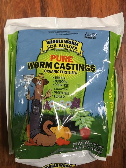 Wiggle Worm Castings