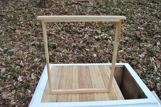 Frame With Wire Supports