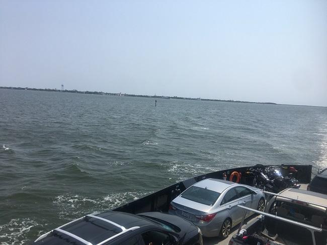 Ferry To Cedar Island