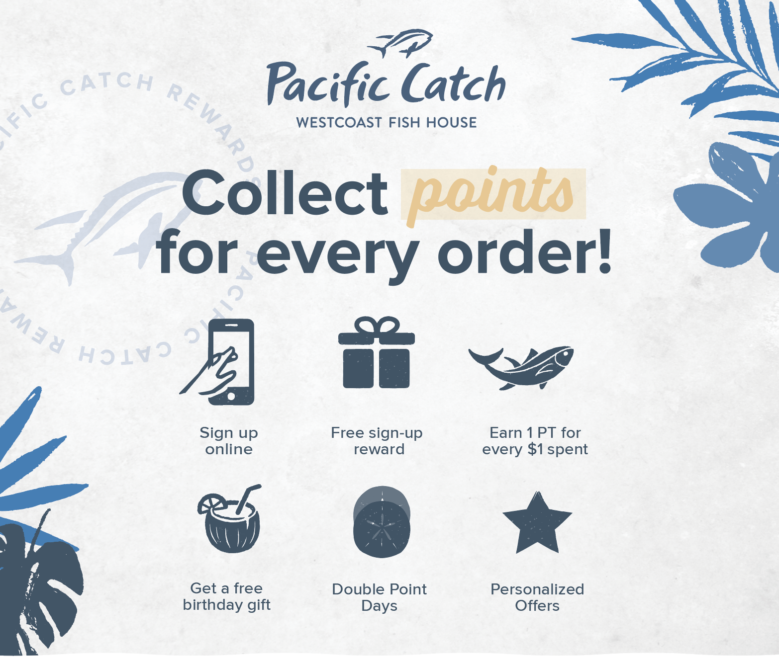 Collect points for every order