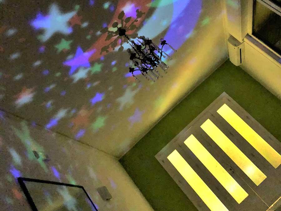 Le luci serali del Centro