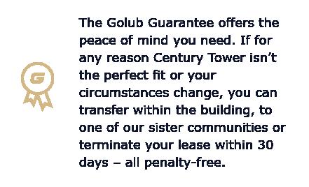 Golub Guarantee