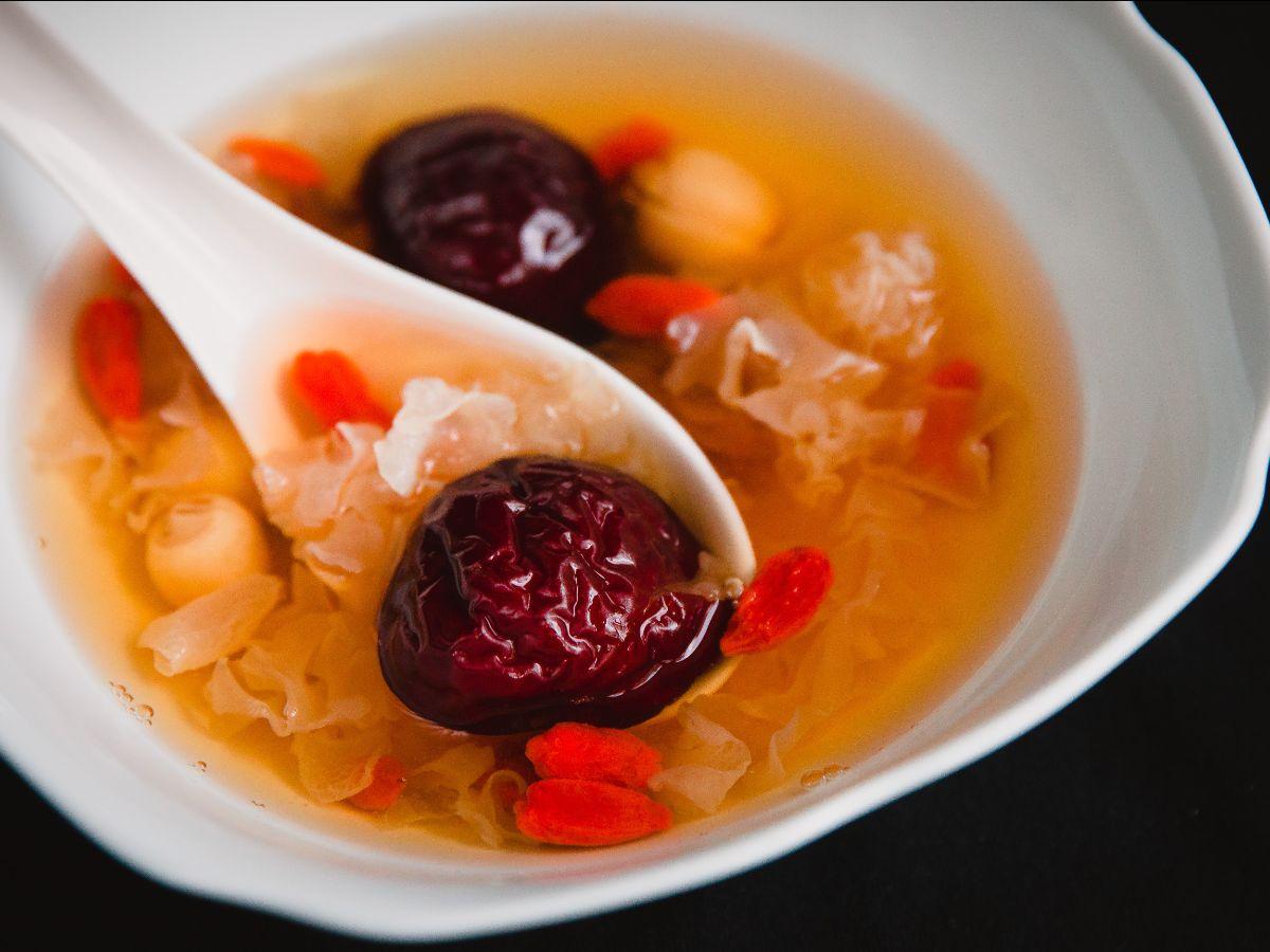 Jujube dessert soup