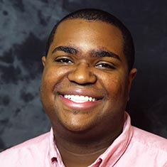 Travon Griffin, undergraduate student in the VCU School of Education.