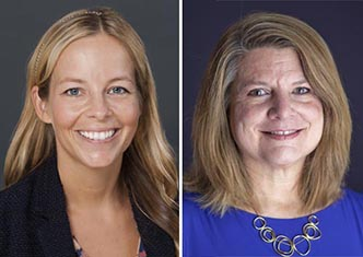 Headshots of Dr. Genevieve Siegel-Hawley and Dr. Kimberly Bridges of the VCU School of Education.