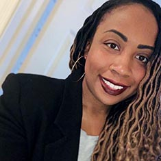 Portia Newman, doctoral student in the VCU School of Education
