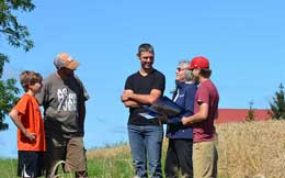Grants in Huron County for stewardship