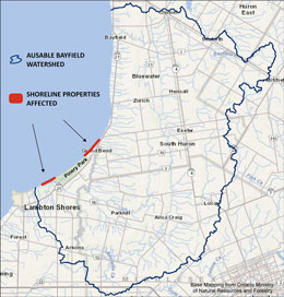 Review, comment on proposed shoreline policy changes.