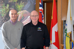 Vice Chair Dave Jewitt and Chair Doug Cook